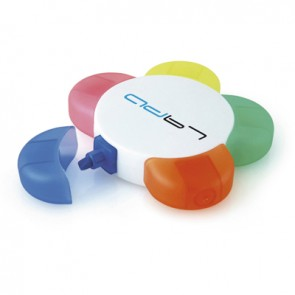 promotional fun flower highlighters TPC-PN0600