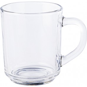 promotional glass tea mugs (260ml) IME-7384