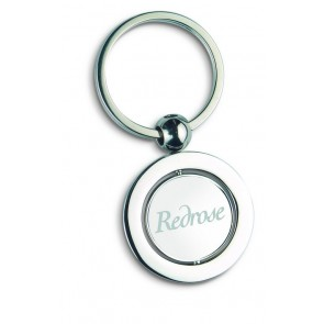 promotional globe metal keyrings MOB-KC6297