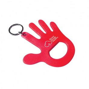 promotional hand shaped bottle opener keyrings SEU-HP8673