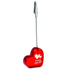promotional heart shaped clips MOB-MO7157