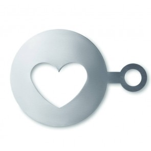 promotional heart shaped coffee stencils  MOB-MO8921