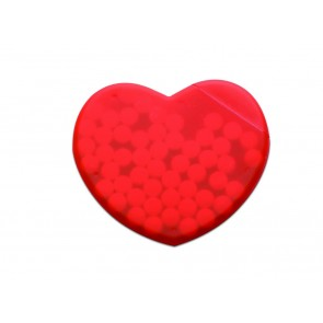 promotional heart shaped peppermint boxes  MOB-MO7158
