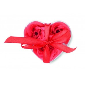 promotional heart shaped soap flowers  MOB-MO8495