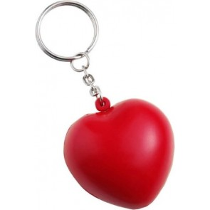 promotional heart stress toy on key chains IME-1171
