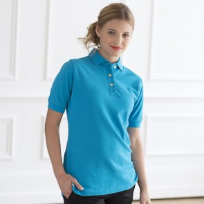 promotional henbury premium women's polo shirts RAL-HB121