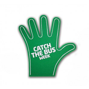 promotional hi five foam hands IMG-FHF