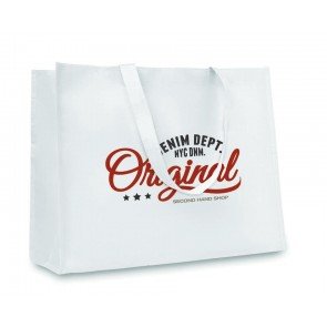 promotional horizontal paper woven bags  MOB-MO8969