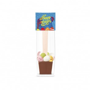 promotional info card hot choc spoon TSP-105626