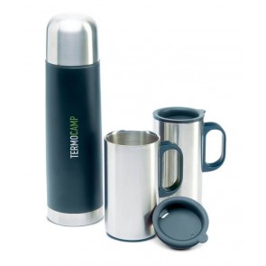 promotional insulation flasks with two mugs MOB-KC2694