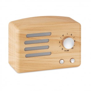 promotional jackson wooden bluetooth speakers MOB-MO9487
