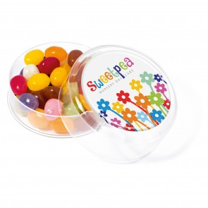 promotional jelly beans in maxi rounds TSP-111002