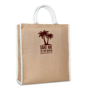 promotional jessie jute bags MOB-MO8966