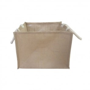 promotional jute box bags BAT-JUTBOX