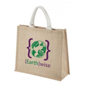 promotional jute shoppers SEU-BA1545