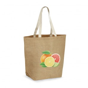promotional jute shopping bag STR-92828