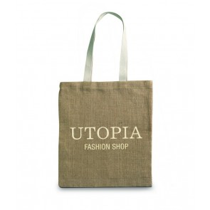 promotional jute shopping bags MOB-MO7264