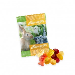 promotional kalfany flow bag kalfany easter fruit gums   easter shapes TSP-101000