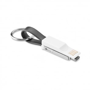 promotional key ring 3 in 1 charging cable mo9765 03 MOB-MO9765