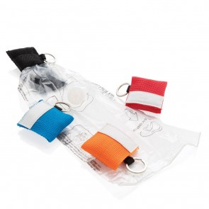 promotional keychain cpr mask XIN-P265.241