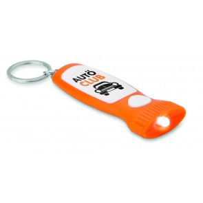 promotional keyring lights in torch shapes MOB-MO8586
