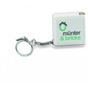 promotional keyrings with flexible rulers  MOB-KC1124