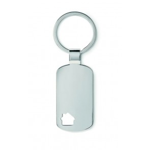 promotional keyrings with house detail MOB-MO8693