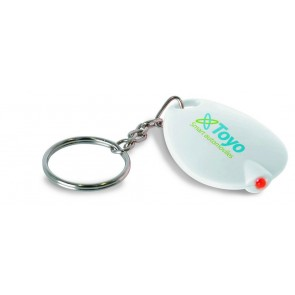 promotional keyrings with led lights MOB-KC1089