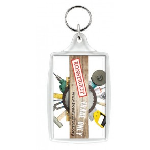 promotional l4 large keyrings SEU-KY0009