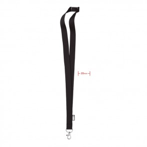 promotional lanyard in rpet 20 mm MOB-MO6100