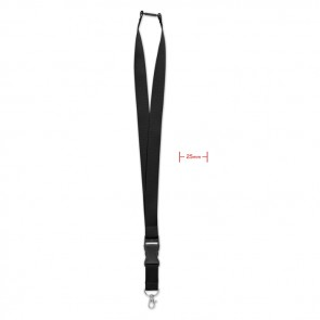promotional lanyard with metal hook 25mm MOB-MO9661