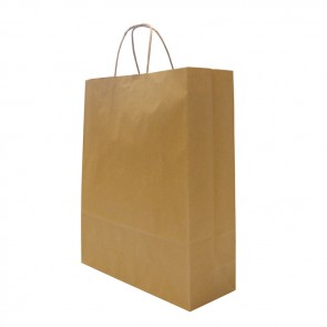 promotional large hardwick smooth kraft paper bags BAT-KRAS3