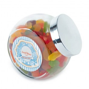 promotional large side glass sweets  LTX-XF005