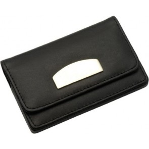 promotional leather and velour cards holders IME-8717