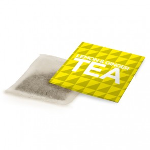 promotional lemon & ginger tea bag envelope BIT-M12621