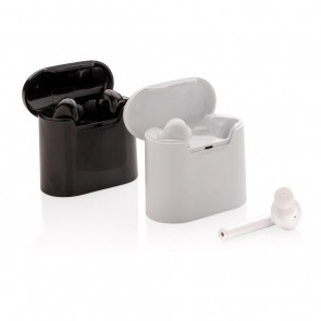 promotional liberty wireless earbuds in charging case XIN-P329.013
