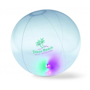 promotional light up beach balls MOB-MO8283