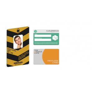 promotional loyalty membership cards SEU-HP8458