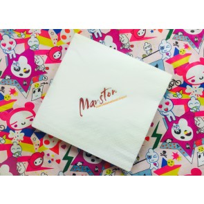 promotional lunch napkins 33cm (3 ply) AJP-NAP-33