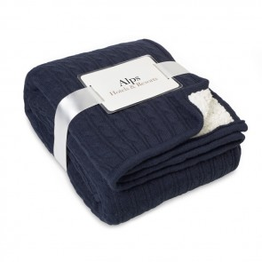 promotional luxury sherpa lining blankets MOB-MO9087