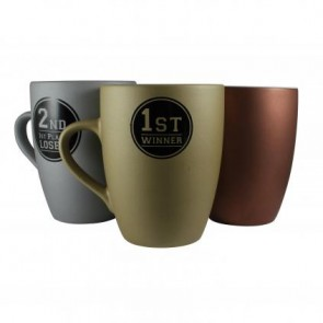 promotional marrow medal mug LSW-12158MAR