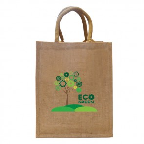 promotional medium jute bags BAT-JUT8