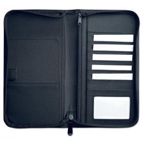 promotional microfibre travel wallets MOB-MO8345