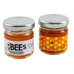promotional mini jar of honey IMC-C-0331