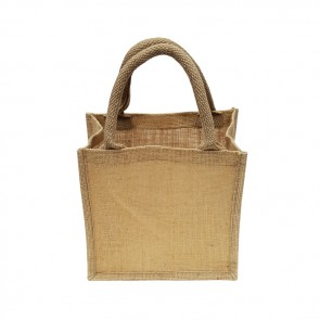 promotional mini jute bags BAT-JUTM