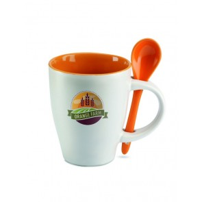promotional mugs with spoons MOB-MO7344