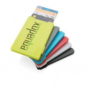 promotional multiple cardholder with rfid anti skimming XIN-P820.475
