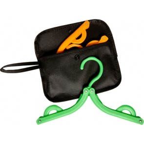 promotional plastic hangers in bag IME-7850