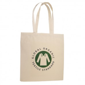 promotional 5oz organic cotton shopper bags BAT-ORG2