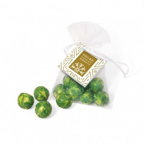 promotional organza bag   chocolate sprouts TSP-103488